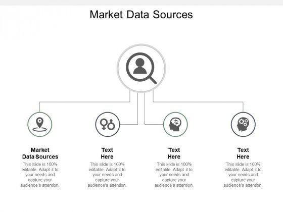 Market Data Sources Ppt PowerPoint Presentation Outline Design Templates Cpb