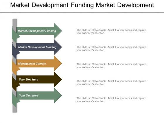 Market Development Funding Market Development Funding Management Careers Ppt PowerPoint Presentation Infographic Template Graphics