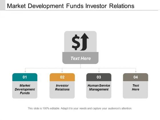 Market Development Funds Investor Relations Human Service Management Ppt PowerPoint Presentation Layouts Good