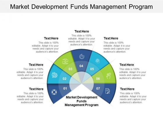 Market Development Funds Management Program Ppt PowerPoint Presentation Icon Shapes Cpb
