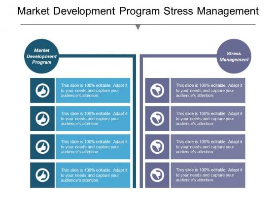Market Development Program Stress Management Ppt PowerPoint Presentation Icon Outline