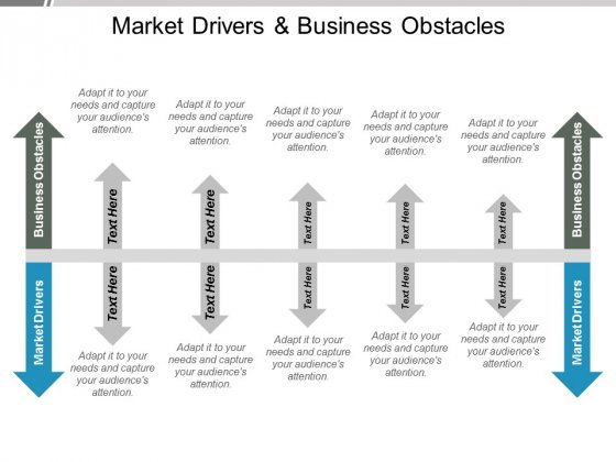 Market Drivers And Business Obstacles Ppt PowerPoint Presentation Styles Layout Ideas