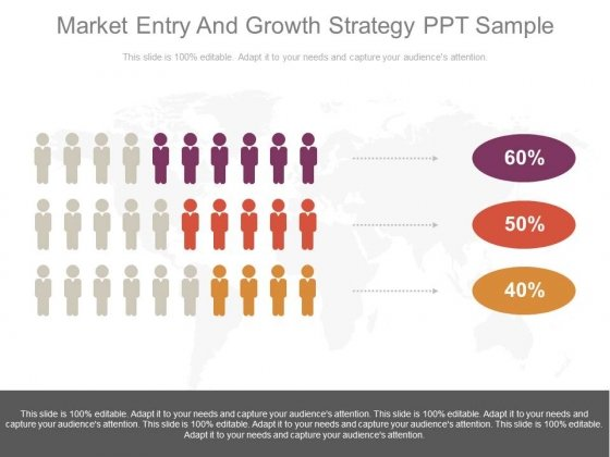 Market Entry And Growth Strategy Ppt Sample