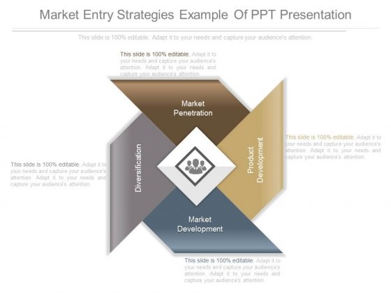 Market Entry Strategies Example Of Ppt Presentation