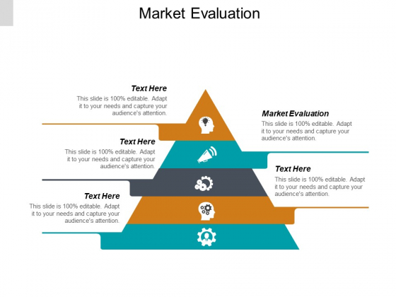 Market Evaluation Ppt PowerPoint Presentation File Visual Aids Cpb