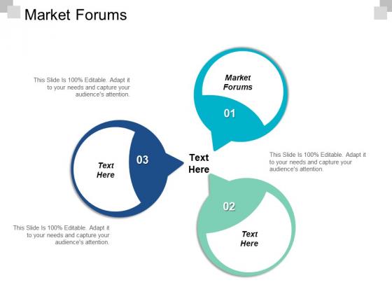 Market Forums Ppt PowerPoint Presentation Styles Example Topics