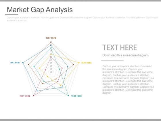 Market Gap Analysis Chart Ppt Slides