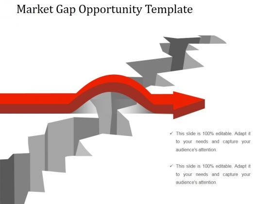 Market Gap Opportunity Template 1 Ppt PowerPoint Presentation Ideas