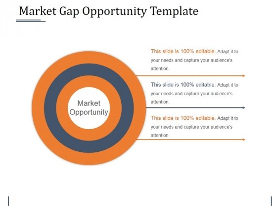 Market Gap Opportunity Template 1 Ppt PowerPoint Presentation Show Slides