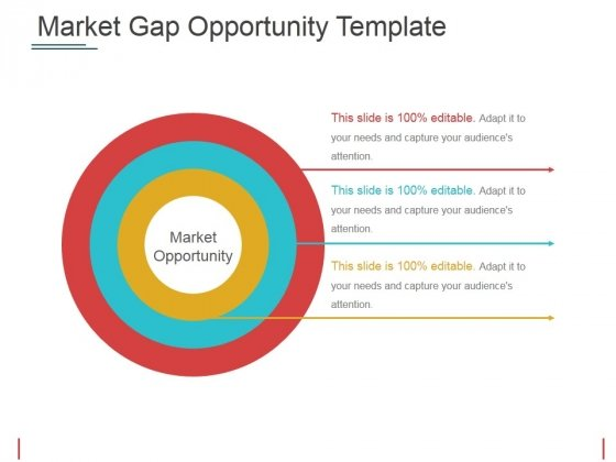Market Gap Opportunity Template 2 Ppt PowerPoint Presentation Slides Graphics Template