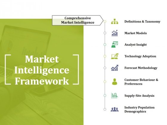 Market Intelligence Framework Ppt PowerPoint Presentation File Mockup