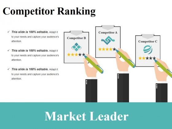 Market Leader Ppt PowerPoint Presentation Icon Maker