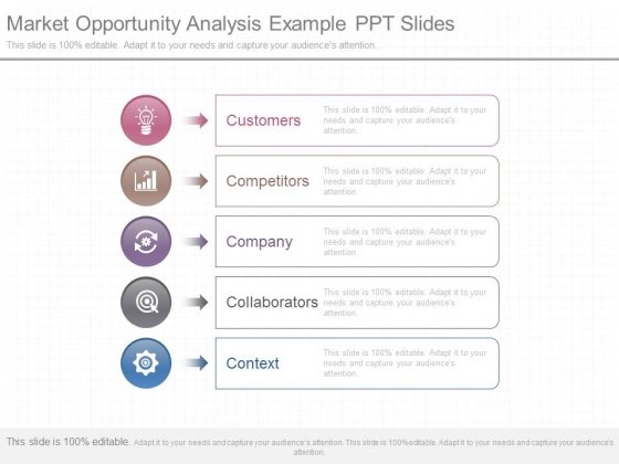 Market Opportunity Analysis Example Ppt Slides - Powerpoint Templates