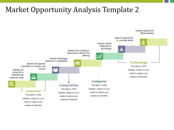 Market Opportunity Analysis Template 2 Ppt PowerPoint Presentation Infographics Tips