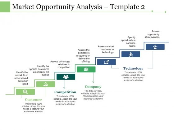 Market Opportunity Analysis Template 2 Ppt PowerPoint Presentation Summary Guidelines