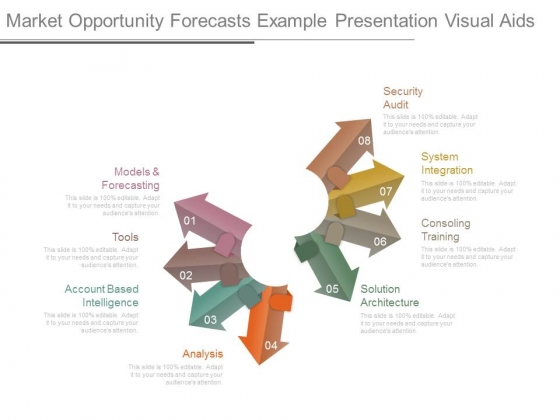 Market Opportunity Forecasts Example Presentation Visual Aids