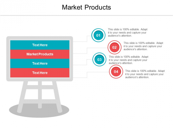 Market Products Ppt PowerPoint Presentation Outline Guide Cpb Pdf