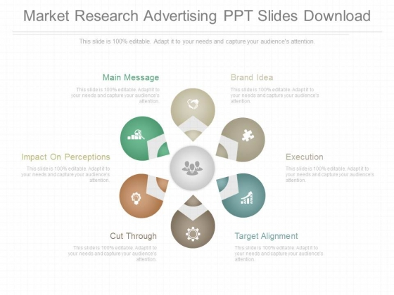 Market Research Advertising Ppt Slides Download