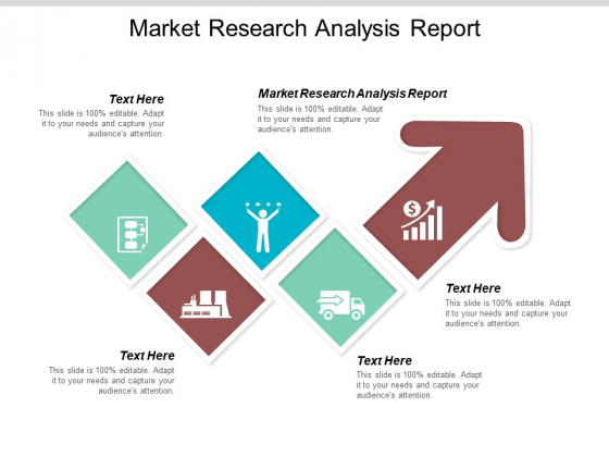 Market Research Analysis Report Ppt PowerPoint Presentation Model Icon Cpb