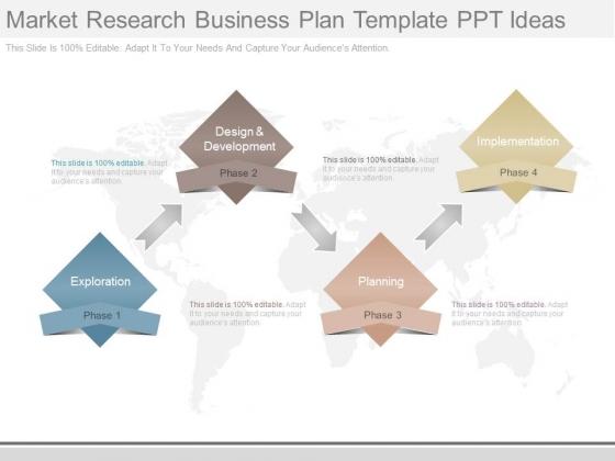 Market Research Business Plan Template Ppt Ideas