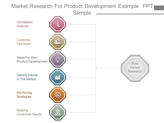 Market Research For Product Development Example Ppt Sample
