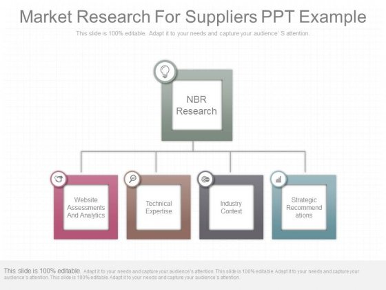 Market Research For Suppliers Ppt Example