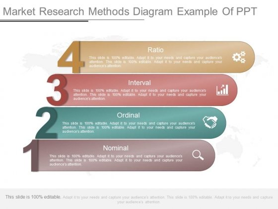 Market Research Methods Diagram Example Of Ppt