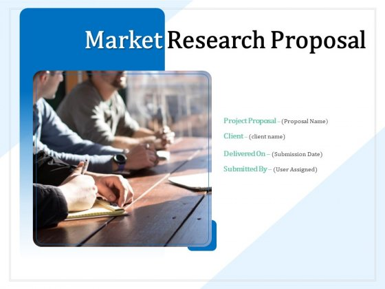Market Research Proposal Ppt PowerPoint Presentation Complete Deck With Slides