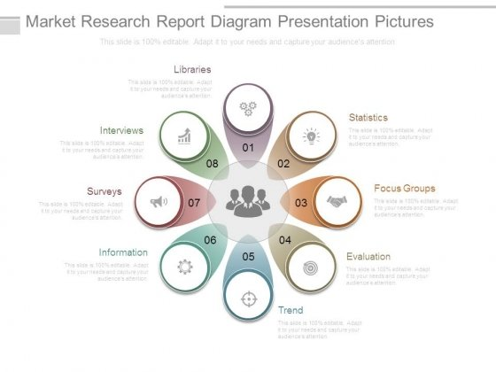 Market Research Report Diagram Presentation Pictures