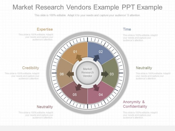 Market Research Vendors Example Ppt Example
