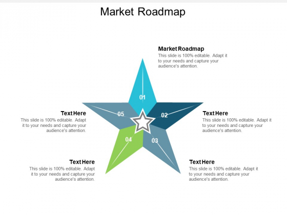 Market Roadmap Ppt PowerPoint Presentation Professional Smartart Cpb