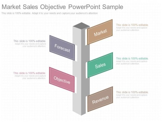 Market Sales Objective Powerpoint Sample