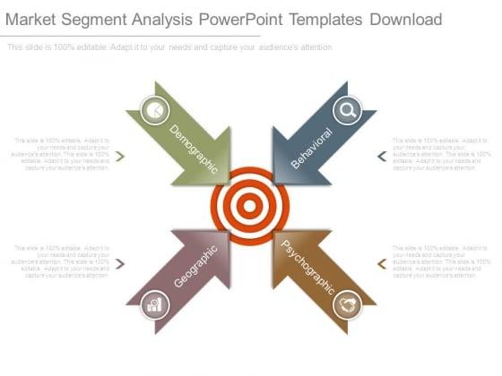 Market Segment Analysis Powerpoint Templates Download