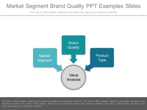 Market Segment Brand Quality Ppt Examples Slides