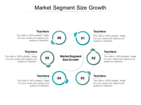 Market Segment Size Growth Ppt PowerPoint Presentation Professional Infographics Cpb