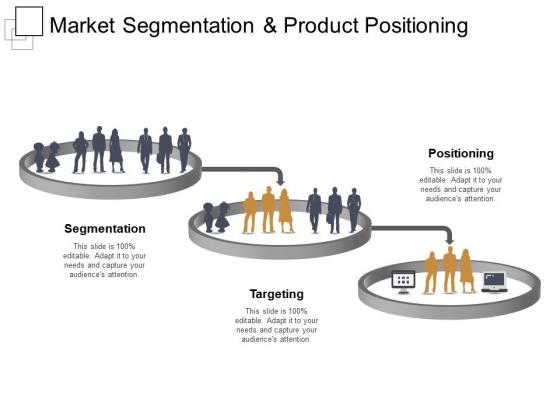 Market Segmentation And Product Positioning Ppt PowerPoint Presentation Portfolio Microsoft