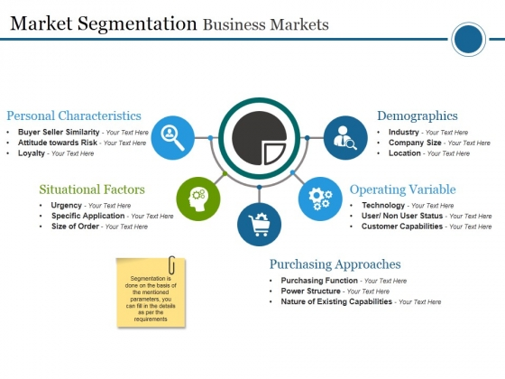 Market Segmentation Business Markets Ppt PowerPoint Presentation Pictures Graphics Tutorials