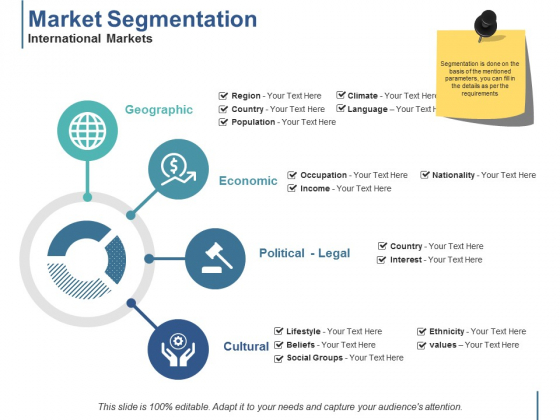 Market Segmentation International Markets Ppt PowerPoint Presentation Inspiration Maker