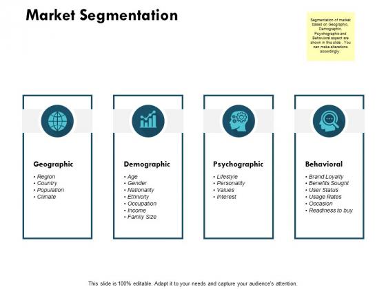 Market Segmentation Ppt PowerPoint Presentation Layouts Layouts