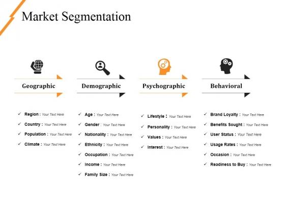 Market Segmentation Ppt PowerPoint Presentation Professional Slides