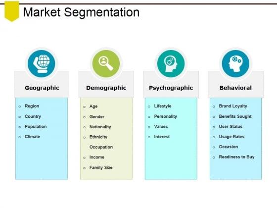 Market Segmentation Ppt PowerPoint Presentation Slides Designs Download