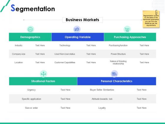 Market Segmentation Segmentation Attitude Ppt Professional Format Ideas PDF