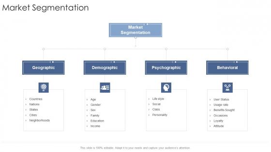 Market Segmentation Startup Business Strategy Ppt Outline Format Ideas PDF