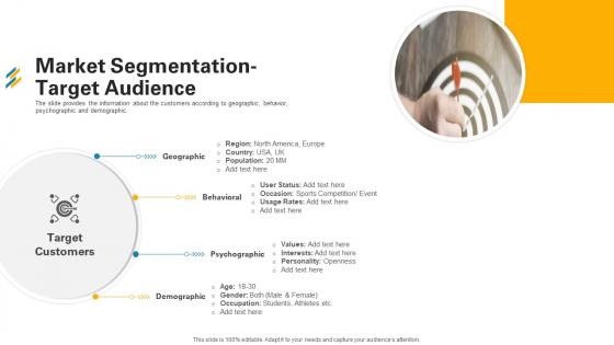Market Segmentation Target Audience Ppt Styles Visual Aids PDF