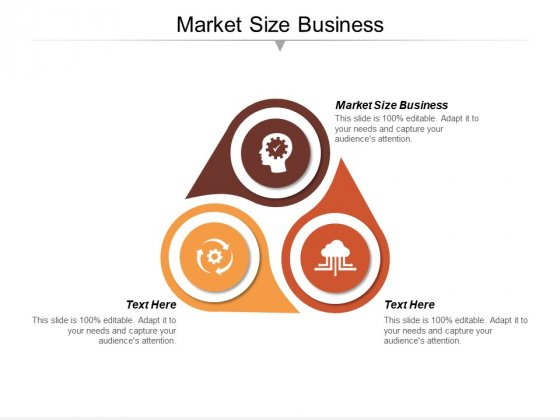 Market Size Business Ppt Powerpoint Presentation Pictures Background Images Cpb