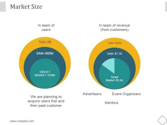 Market Size Ppt PowerPoint Presentation Images