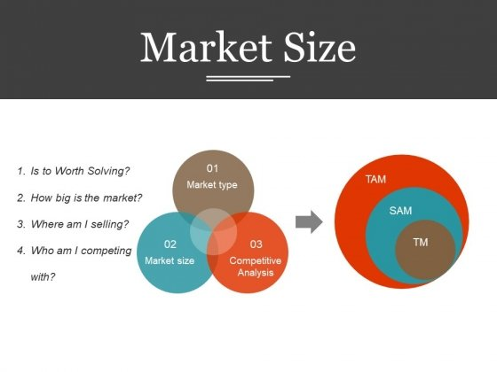Market Size Ppt PowerPoint Presentation Infographic Template Aids