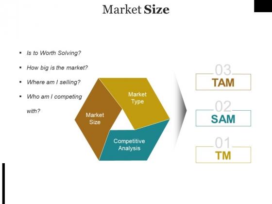 Market Size Ppt PowerPoint Presentation Inspiration Brochure