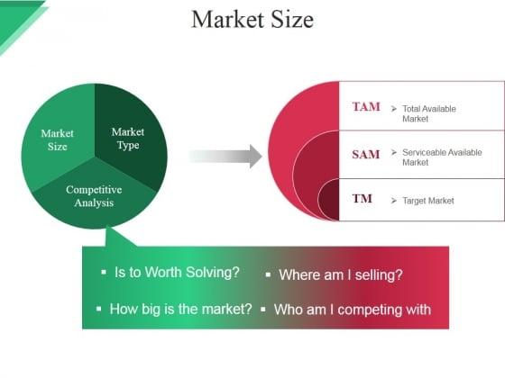 Market Size Ppt PowerPoint Presentation Microsoft