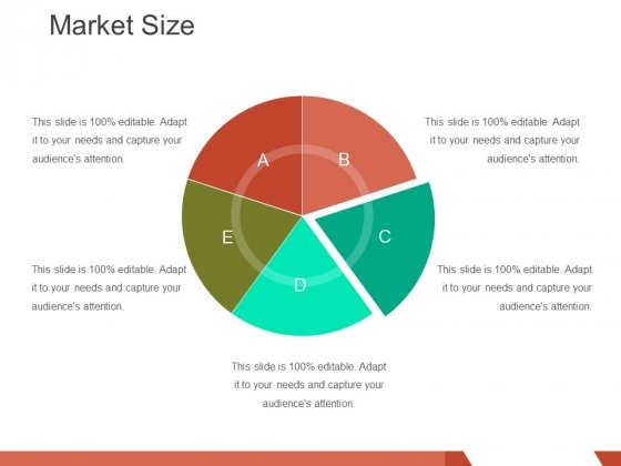 Market Size Template 3 Ppt PowerPoint Presentation Slides Skills